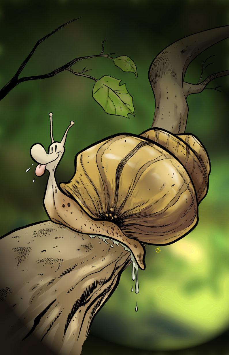 Promo Art for Silver Snail Comic Shop