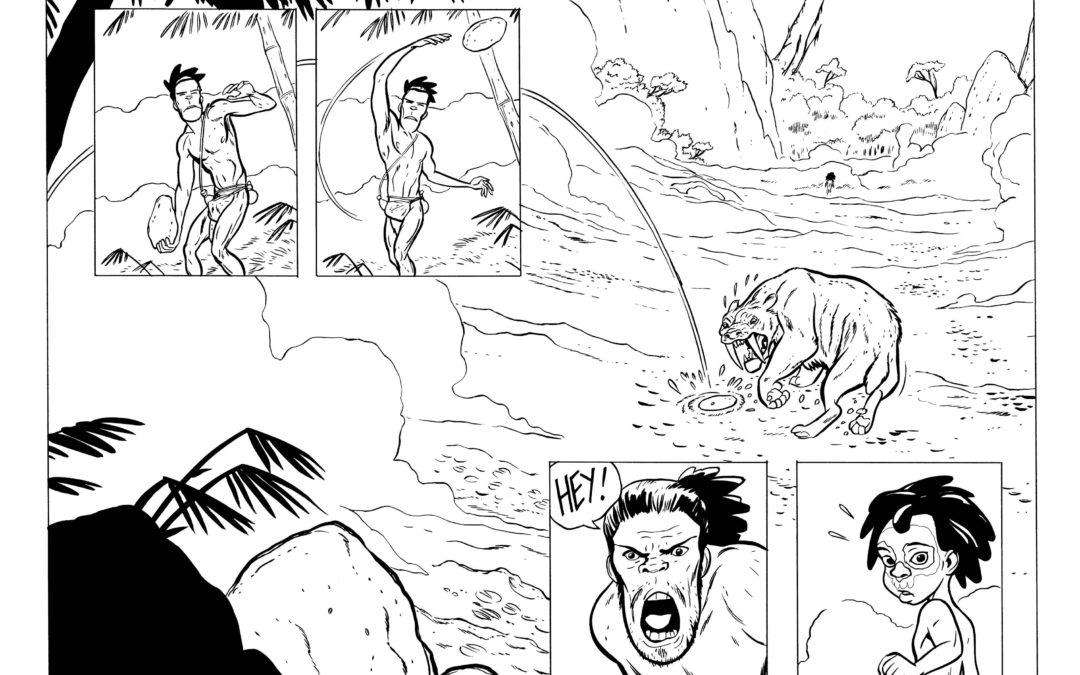 Tuki vs The Sabretooth!