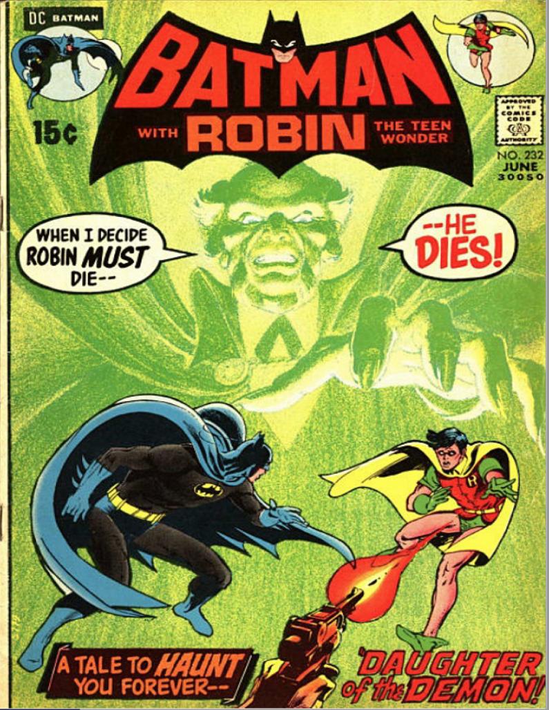 SCREW IT, WE'RE JUST GONNA TALK ABOUT COMICS Jeff Smith: Batman #232