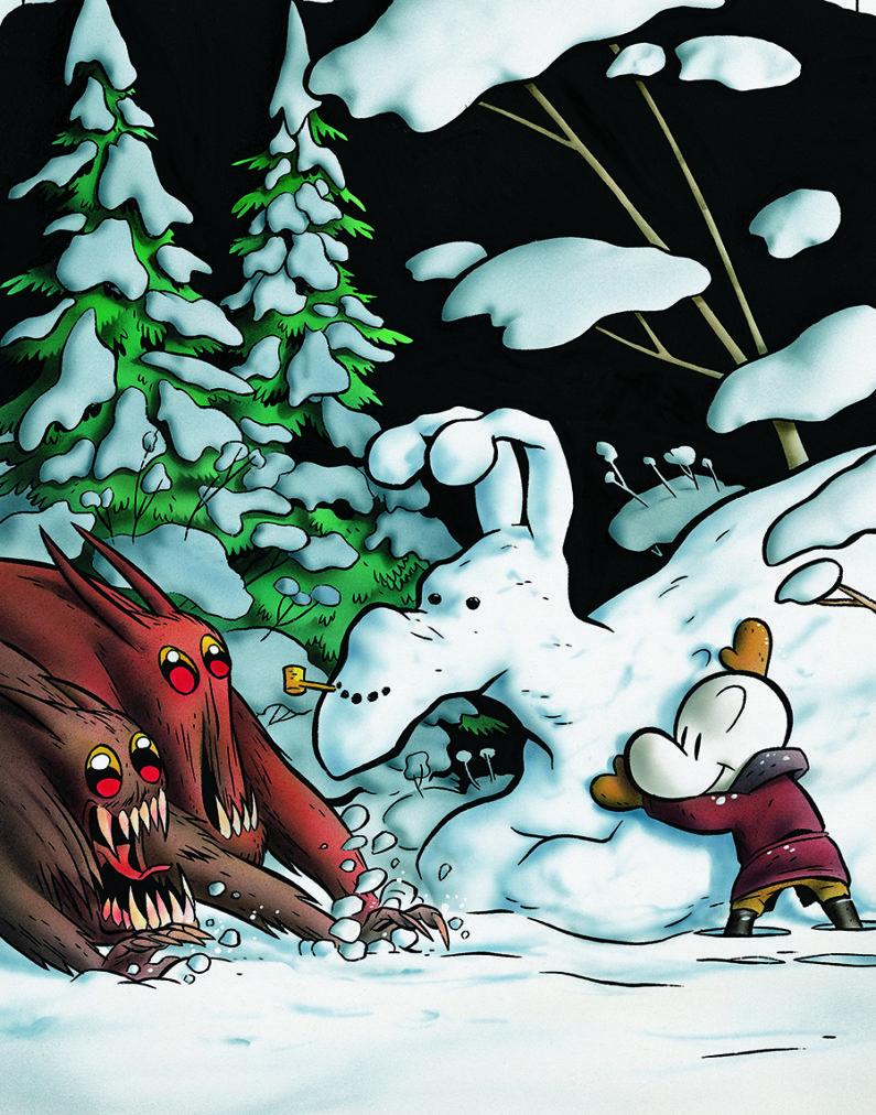 Let's Make a Snow Dragon!