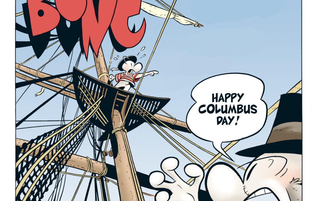 It's Columbus Day – Argh!