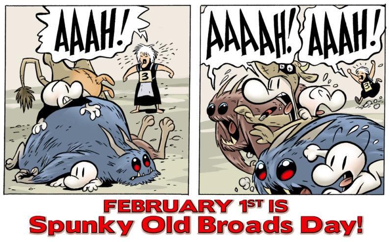 Spunky Old Broads Day!