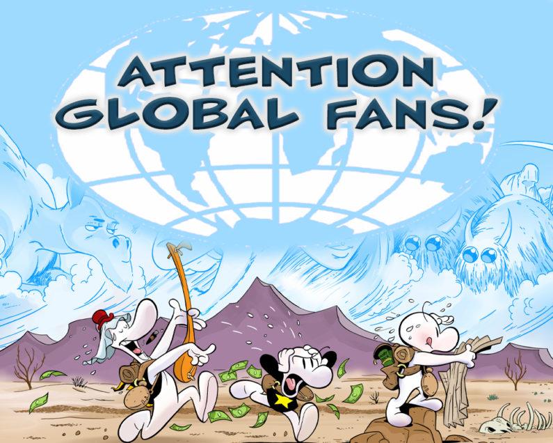 Attention: Bone Fans Across the Globe