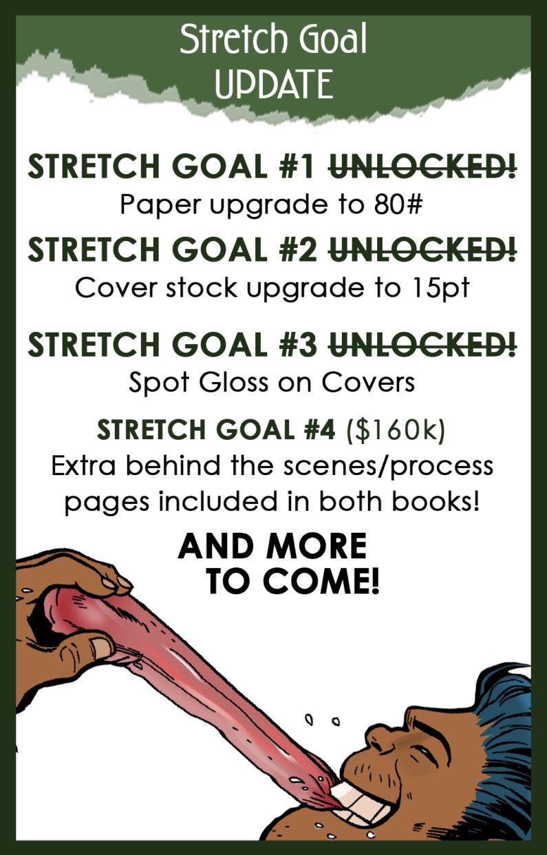 Kickstarter Stretch Goals Announced!