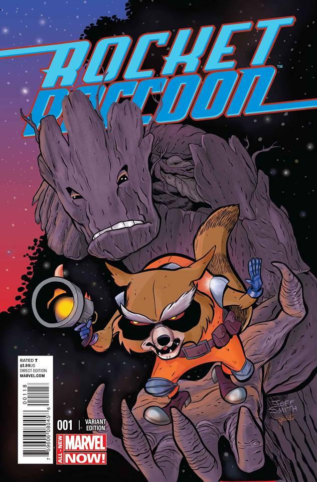 #TBT Rocket Raccoon Variant Cover