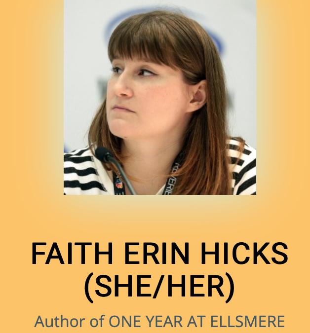 CXC 2020 Concludes With a Livestream With Faith Erin Hicks