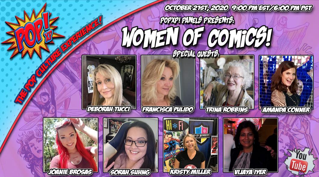 Women of Comics! Tonight 9pm EST.