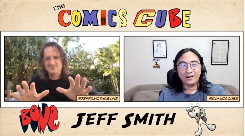 Comics Cube Interview