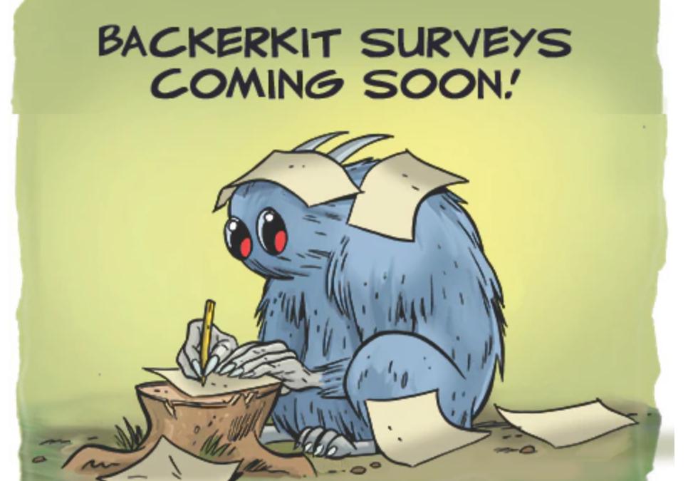 Backerkit Surveys